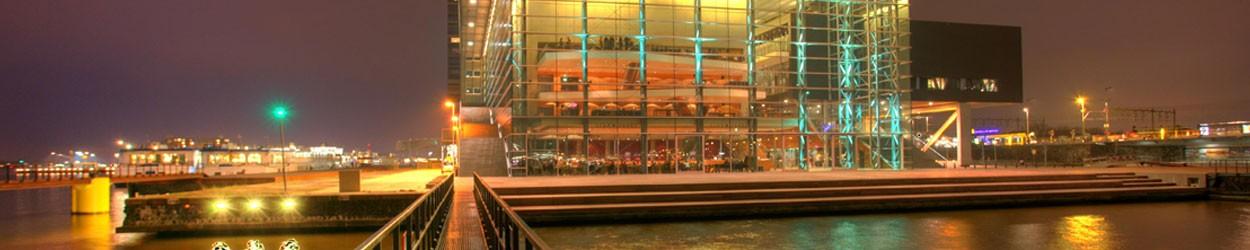 Het Muziekgebouw aan 't IJ Amsterdam