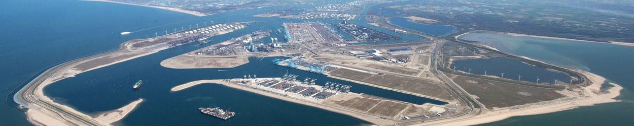 Havengebied Rotterdam