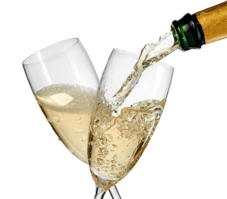 Champagne glazen